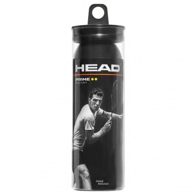 Balle de squash Head Prime x3| My-squash.com