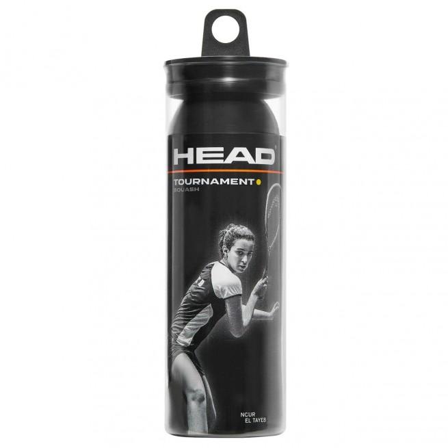 Head Tournament Squash ball x3 |My-squash.com