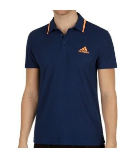 Adidas Advantage Polo Men Blue  | My-squash.com