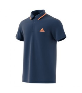 Adidas Polo Hommes Advantage Bleu | My-squash.com