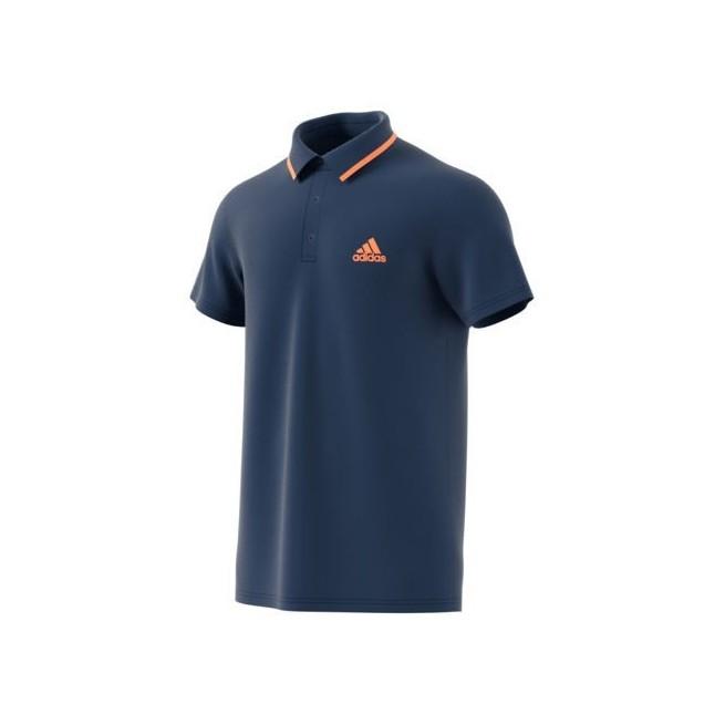 Adidas Advantage Polo Men Blue  | My-squash.com