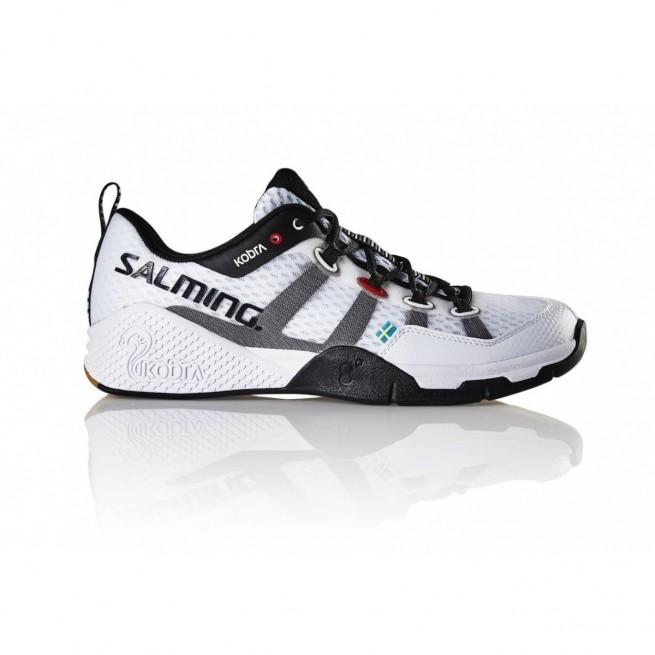 Salming Kobra White Women Squash shoes | My-squash.com