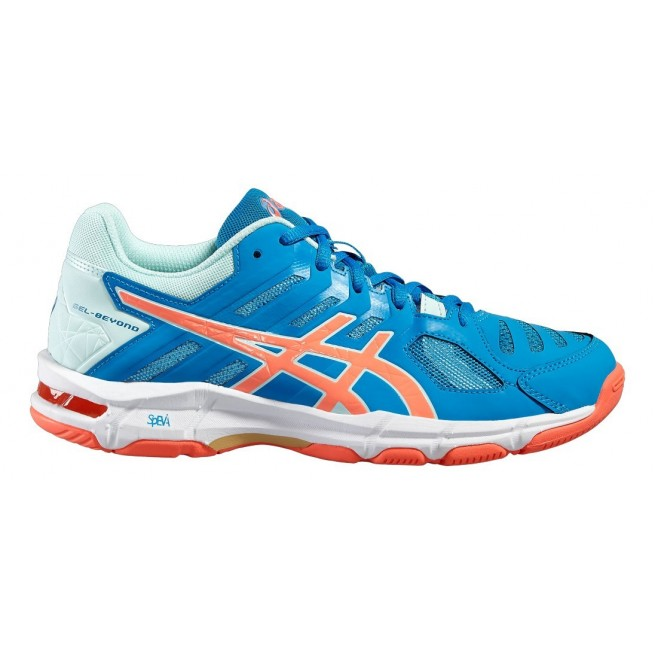 Chaussure squash Asics Gel Beyond 5 Blue Jewel | My-squash.com