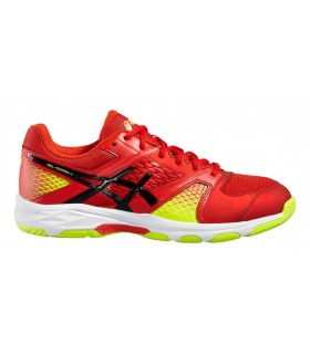 Asics Gel-Domain 4 Vermilion/Black/Safety Yellow