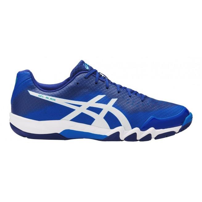 Asics Gel-Blade 6 Directoire Blue Squash shoes | My-squash.com