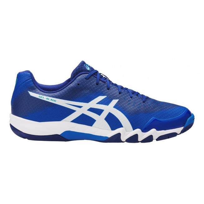 Chaussure squash Asics Gel-Blade 6 Blue My-squash.com