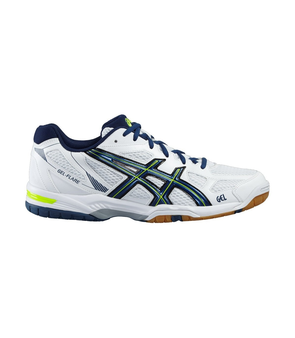 5 Flare Homme Squash Pour Gel Blancbleu Asics Chaussure My yxwYX6aa