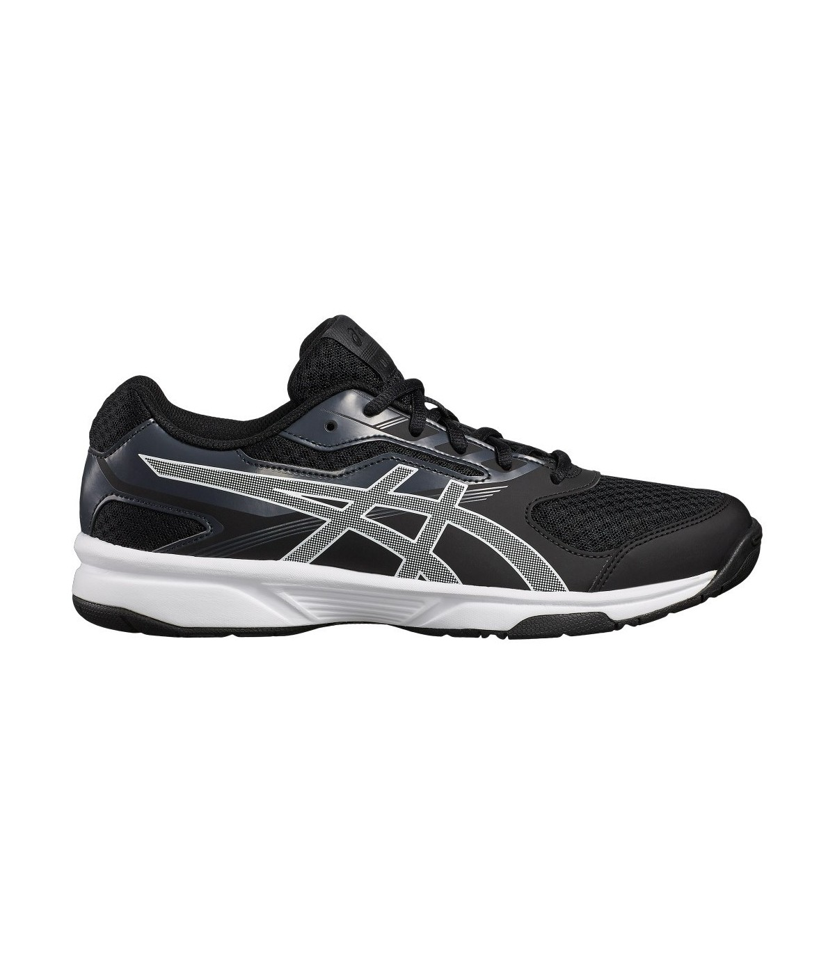 Asics UpCourt 2 Classic Men Squash Shoes – Black   Grey  4be20aa6556b4