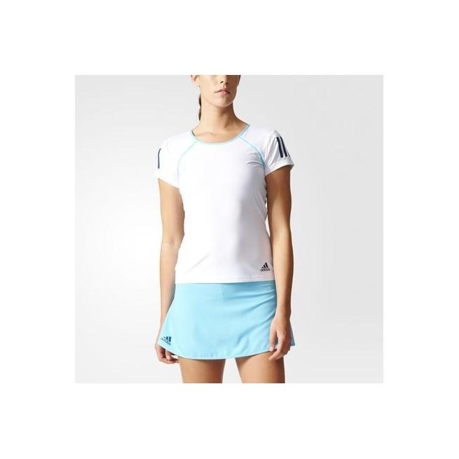 t-shirt adidas femme blanc