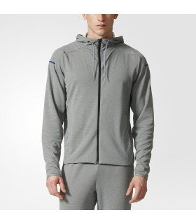 Adidas Club Sweat Hoodie Homme Gris | My-squash.com