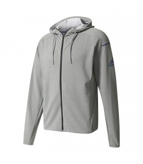 Adidas Club Sweat Hoodie Men Grey | My-squash.com