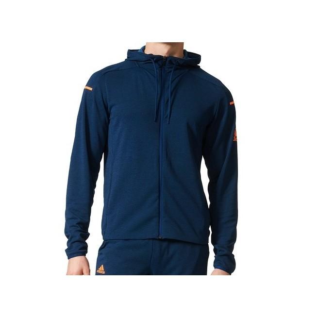 Adidas Club Sweat Hoodie Homme Bleu | My-squash.com