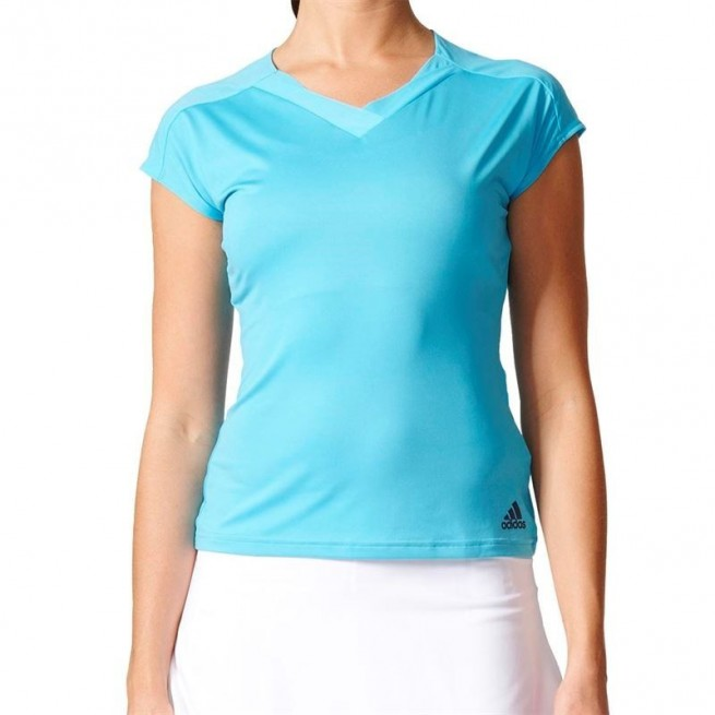 Adidas Melbourne Tee Femmes (Bleu)