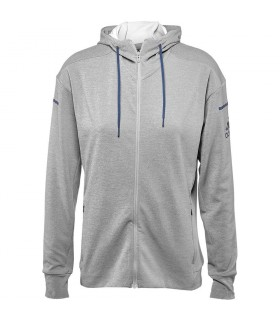Adidas Club Sweat Hoodie Women Grey | My-squash.com