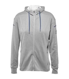 Adidas Club Sweat Hoodie Women Grey   My-squash.com
