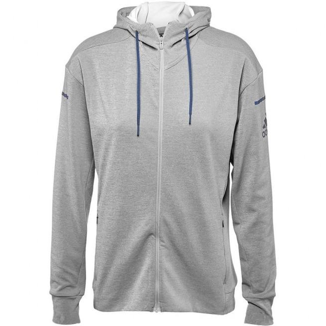 Adidas Club Sweat Hoodie Women Grey | My-squash.com