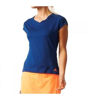 Adidas Melbourn Tee Women Blue |My-squash.com