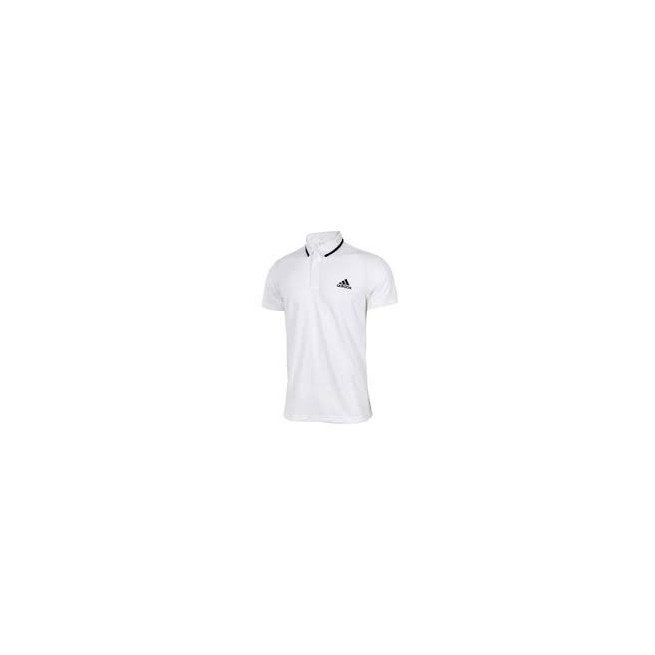 Adidas Advantage Polo Men White | My-squash.com