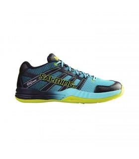Chaussure squash Salming Race x Shoe Turquoise |My-squash.com