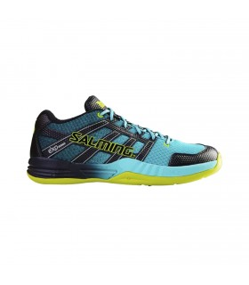 Salming Race x Shoe Turquoise Squash shoes | My-squash.com