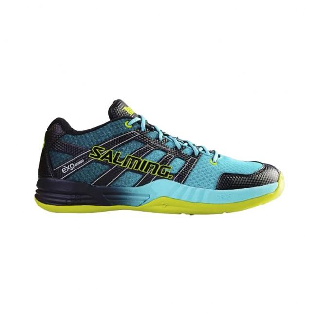 Salming Race x Shoe Turquoise Squash shoes |My-squash.com