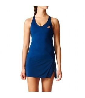 Adidas Women Mebourn dress Blue | My-squash.com