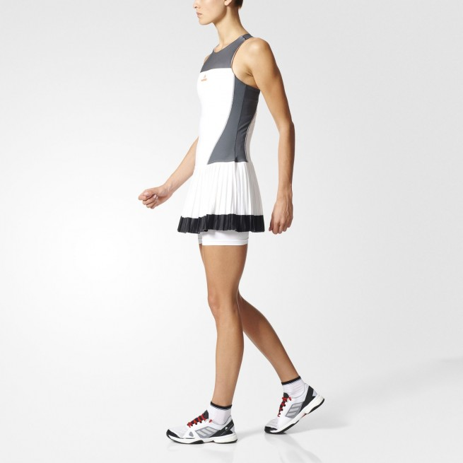 Adidas Women Barricade dress White | My-squash.com