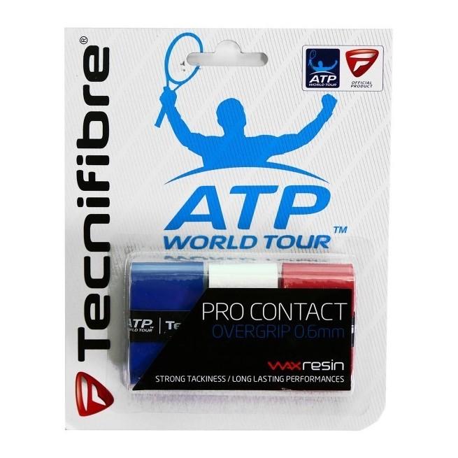 Tecnifibre Pro Contact Bleu Blanc Rouge | My-squash.com