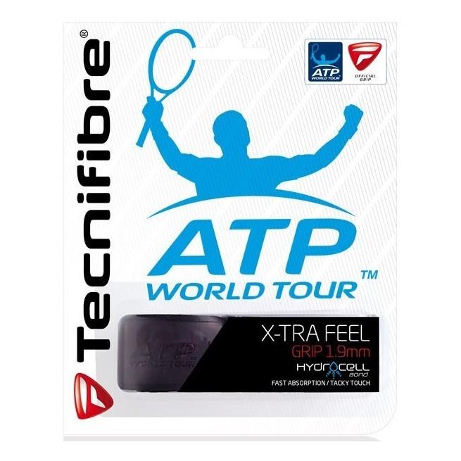 Tecnifibre Squash X-tra Feel Grip Black |My-squash.com