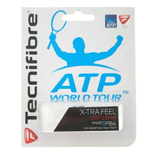 Tecnifibre Squash X-tra Feel Grip White |My-squash.com