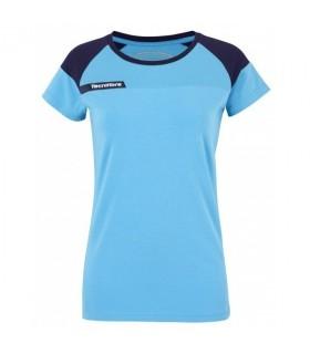T-Shirt Femme Tecnifibre F1 Stretch & Mesh Bleu | My-squash.com