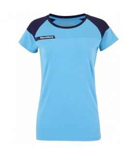 T-Shirt Tecnifibre F1 Lady Stretch & Mesh Blue | My-squash.com