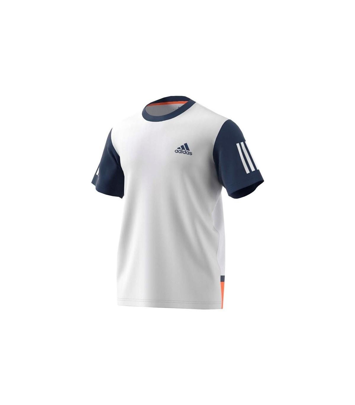 Men s Squash T-Shirt Adidas Club Tee – White   Mystery Blue  6908b19e0b39