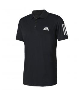 Adidas Club Polo Hommes Noir  | My-squash.com