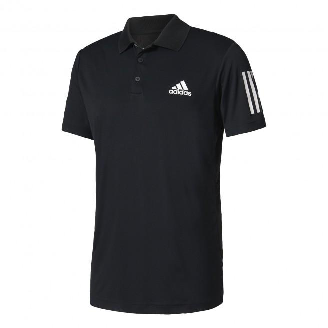 Adidas Club Polo Men Black | My-squash.com