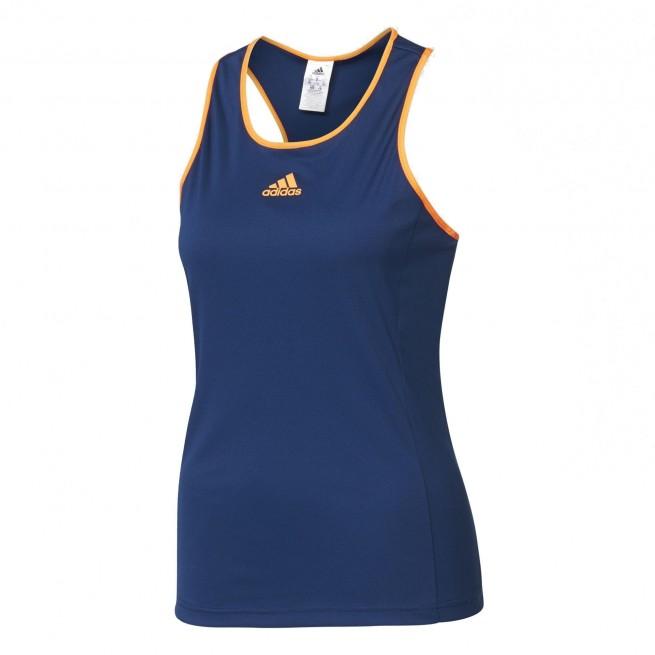 Adidas Court Tank Top Girl Blue | My-squash.com