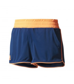 Adidas Court Short Women (Mystery Blue/ Glow Orange)