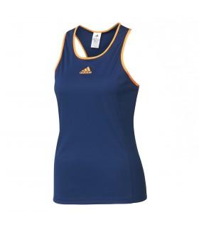 Adidas Court Tank Femme Bleu | My-squash.com