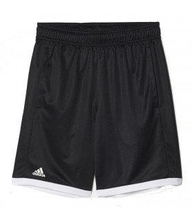 Adidas B court short Junior Black/ White | My-squash.com