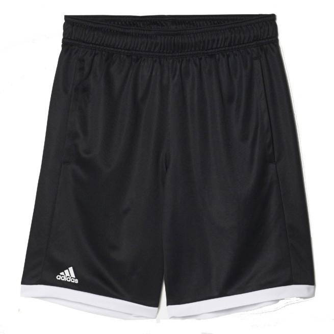 Adidas B court short Junior Noir/ Blanc |My-squash.com