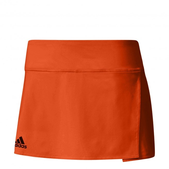 Adidas Club Skirt Femme Orange |My-squash.com