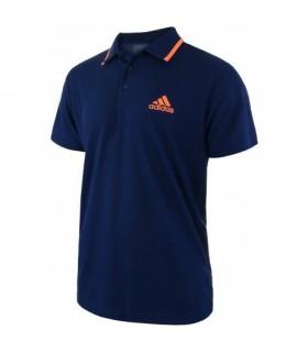 Adidas Club Polo Homme Bleu | My-squash.com