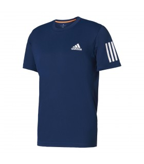 Adidas Club Tee Homme Bleu | My-squash.com