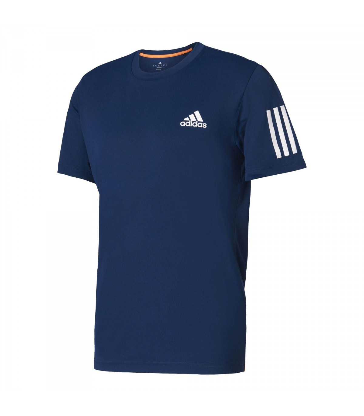 t shirt adidas club tee pour hommes mystery blue blanc. Black Bedroom Furniture Sets. Home Design Ideas