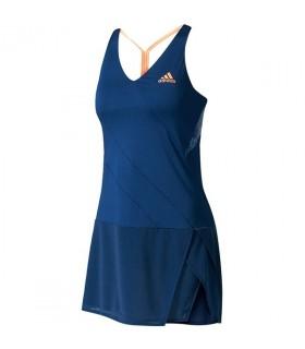 Adidas Robe Femme Melbourne Bleu | My-squash.com