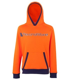 Sweat à Capuche Homme Tecnifibre Orange | My-squash.com