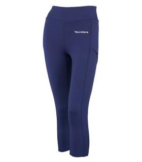 Legging Femme 3/4 Tecnifibre Bleu | My-squash.com