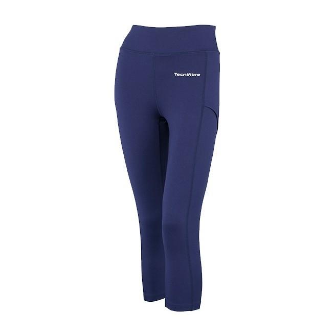 Legging 3/4 Tecnifibre Women Blue | My-squash.com