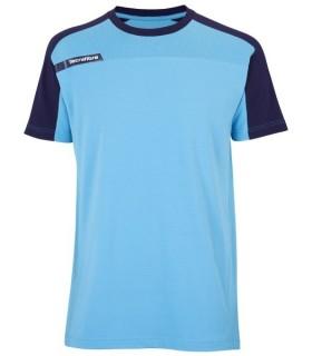 T-Shirt  Homme Tecnifibre F1 Stretch & Mesh Bleu | My-squash.com