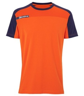 T-Shirt Homme Tecnifibre F1 Stretch & Mesh Orange | My-squash.com